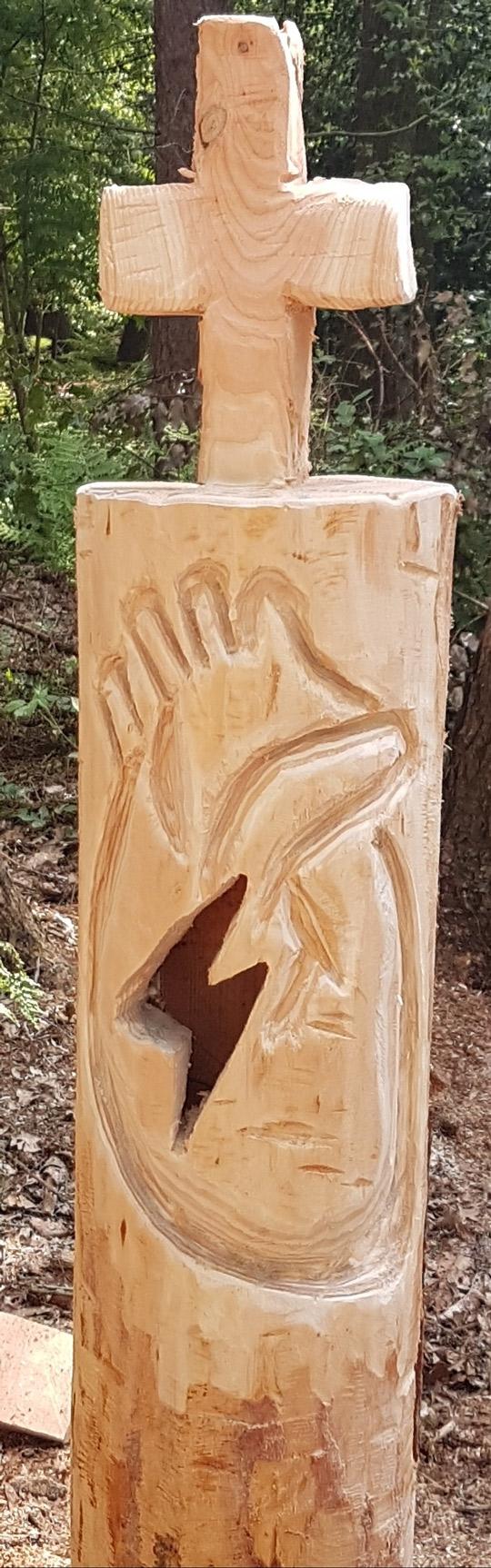 Holzlampe selber bauen